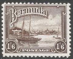 Bermuda. 1936-47 KGV. 1/6 MH. SG 106 - Bermuda