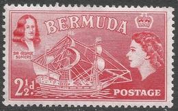 Bermuda. 1953-62 QEII. 2½d MH. SG 139 - Bermuda