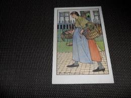 Bruges  Brugge   Illustrateur Jules Fonteyne   Marchande De Crevettes - Brugge