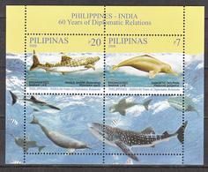 Filippine Philippines Philippinen Filipinas 2009 - Philippines-India Endangered Marine Life SS - MNH** (see Photo) - Filippine