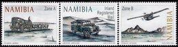 Namibia - 2018 - Ox Wagon To Airplane - Mint Stamp Set - Namibia (1990- ...)