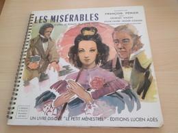 MISÉRABLES FRANÇOIS PÉRIER VICTOR HUGO ALB48 MENESTREL G 2X VINYLES 33T LP - Kinderlieder