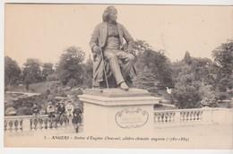 26870 ANGERS Statue Eugene Chevreul Celebre Chimiste Angevin -5 Artaud Nozais -enfants - Angers