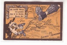 Tiroler Volksbund Prende A Calci Gli Irredenta Spedita Come Feldpost 11/5/1918 H995 - Italia