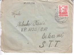3789 BRIEF   BANJA  LUKA -DEKANI  STT - Slovenia