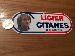AUTOCOLLANT, Sticker «LIGIER GITANES» (J. LAFFITE - Formule 1) - Stickers
