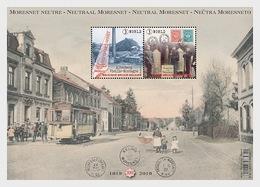 Belgium 2019 - Neutral Moresnet - Miniature Sheet MNH - Neufs