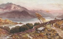"""Edwin A. Penley. Loch Vennache"" Tuck OiletteScottish Lochs Series PCc# 7167 - Tuck, Raphael"