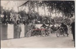 MOTO MOTORCYCLE RACE - GRAN PREMIO D'ITALIA 1927? - FOTOCARTOLINA ORIGINALE - Photos