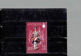 ANTIGUA 1970- UNIFORMS; DRUMMER BOY  NEW STAMP OF 1/2 C  SCOTT NR. 262 PERFECTBK BL COM - Antigua And Barbuda (1981-...)