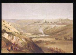 CPM Neuve Israël JERUSALEM D'après Une Lithographie De David Roberts - Israel