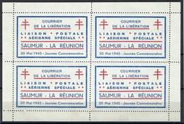 France, Libération, Saumur, N° 1 ( ** ) En Bloc De 4 TB - Libération