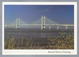 UK.- Second Severn Crossing. Prince Of Wales Bridge. Welsh: Pont Tywysog Cymru. - Wales