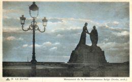 N°70283 -cpa Le Havre -monument De La Reconnaissance Belge- - Le Havre
