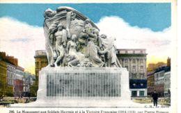 N°70285 -cpa Le Havre -le Monument Aux Soldats Havrais- - Le Havre