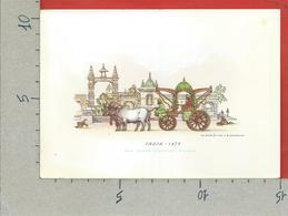 CARTOLINA NV ITALIA - Carrozze Serie II - India 1875 - G. Lavarello Casa Mamma Domenica Milano - 10 X 15 - Illustratori & Fotografie