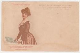 26875 Biscuit Pernot - Pioupiou Parisette -exposition Universelle Paris 1900 -femme - Publicité