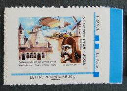 LOUIS BLERIOT - 1er Vol De Ville à Ville ARTENAY - TOURY 31 10 1908 ** - Francia