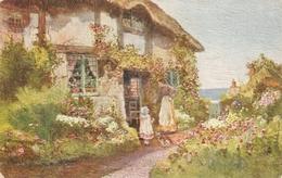 """A.W. Bridgeman. CpttgeHomes"" Tuck Oilette PC # 3565 - Tuck, Raphael"