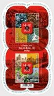 Belgium 2018 - The Great War - Commemoration - 'We Shall Never Forget' - Miniature Sheet Mnh - Neufs