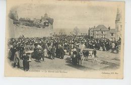 AVRANCHES - Le Marché Aux Bestiaux (carte Précurseur ) - Avranches