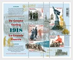 Belgium 2018 - The Great War (Part 5) - The Liberation - Miniature Sheet Mnh - Neufs