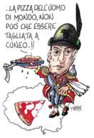 [MD2704] CPM - MILANO - TOTO' ANTONIO DE CURTIS - PIZZA CUNEO ALPINO - NV - Attori