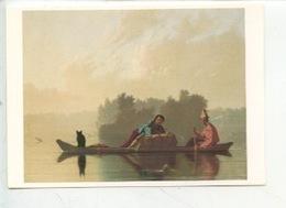 George Caleb Bingham 1811/1879 Marchands De Fourrures Descendant Le Missouri 1845 (Paris Grand Palais Un Nouveau Monde) - Etats-Unis