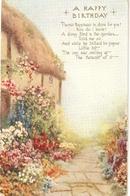 """""""lL. Spencer. Beautiful Garden"""" Tuck Oilette All In A Garden Fair  Ser. PC # 3577 - Tuck, Raphael"""