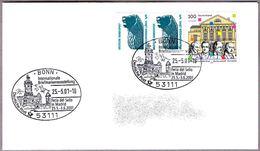 FERIA DEL SELLO EN MADRID - STAMP FAIR OF MADRID. Bonn, Alemania, 2001 - Correo Postal