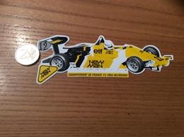 AUTOCOLLANT, Sticker «NEW MAN - CHAMPIONNAT DE FRANCE F3 - PAUL BELMONDO» (AUTOMOBILE) - Stickers