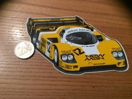 AUTOCOLLANT, Sticker «NEW MAN - JOEST RACING - PORSCHE» (AUTOMOBILE) - Stickers