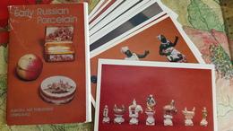 Full 16 PCs Set / JEU - ECHECS - CHESS - ECHECS - Porcelain /  Chess Figures, Hermitage - Old Postcard 1982 - Echecs