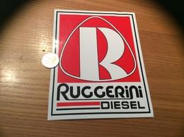 Grand AUTOCOLLANT, Sticker «RUGGERINI DIESEL » (moteur) - Stickers