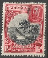 Grenada. 1934-36 KGV. 1½d Used. P 12½X13½ SG 137a - Grenada (...-1974)