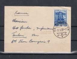 Schweiz Michel Cat.No. Used 334 Single Cover - Briefe U. Dokumente