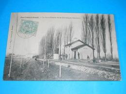 17 ) Pont-l'abbé-d'arnoult  : La Gare - Train - Année 1905 : EDIT : Prévost - Pont-l'Abbé-d'Arnoult