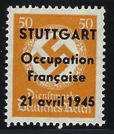 France, Libération, Stuttgart, N° 2 ( ** ) TB Sans Gomme - Libération