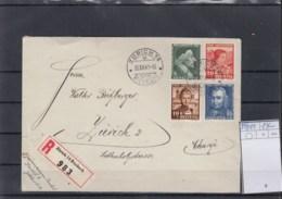 Schweiz Michel Cat.No. Used 399/402 Cover Reco - Briefe U. Dokumente