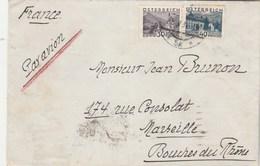 Autriche Lettre Avion Entête  Hôtel Bristol WIEN 29/4/1932 Pour Marseille France - Covers & Documents