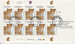 Namibia CTO Booklet - Big Cats (cats Of Prey)