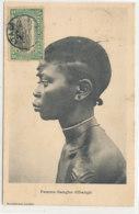 A M 539  /  C P A    CONGO BELGE   FEMME SANGHO  UBANGI - Congo Belge - Autres