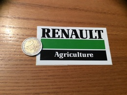 AUTOCOLLANT, Sticker Type 2 «RENAULT AGRICULTURE» (tracteur) - Stickers