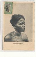 A M 542  /  C P A    CONGO   BELGE    FEMME AZANDE UELE - Congo Belge - Autres