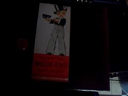 Marque Pages Publicitaire Double Face Cigarettes Balto Et Cigarettes Week End Regie Francaise - Marque-Pages