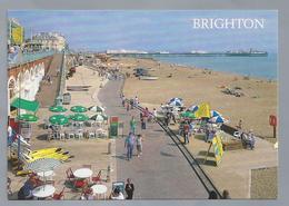 UK.- SUSSEX. BRIGHTON. The Esplanade And Beach. - Brighton