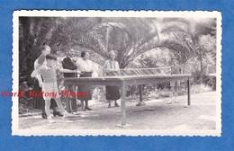 Photo Ancienne - CANNES - Partie De Ping Pong Chez Les Cousins Vandevelde - Mai 1937 - Tennis De Table - Sports