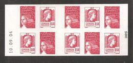 France, Carnet 1512, Daté, Carnet Neuf **, Non Plié, TTB, Carnet Marianne D'Alger, 3716 - Usage Courant