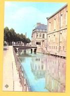"""Carte Postale En Couleur """" Bords De La Scarpe Et Le Palais De Justice """" à DOUAI - Douai"""