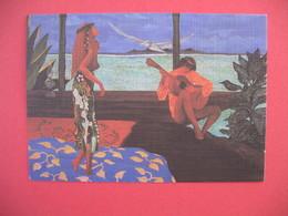 Polynésie Française Carte Artistes Peintres - V. Sylvain - Polinesia Francese